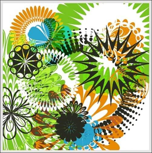 Flowers-andCircular-Designs-illustrator-brush