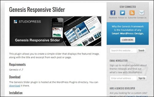 Genesis-wordpress-slider-plugin