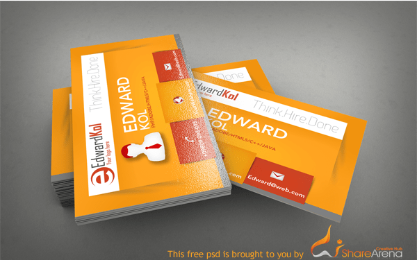 free premium business card