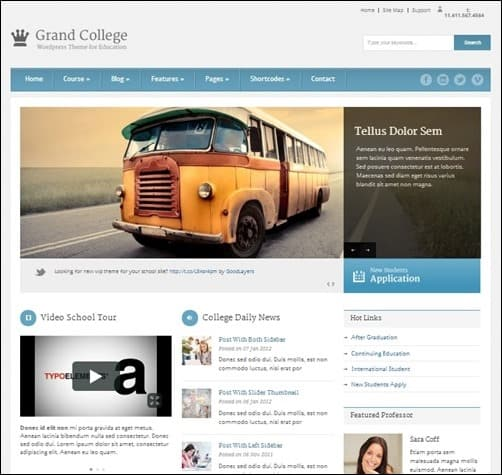 Grand-College wordpress business themes