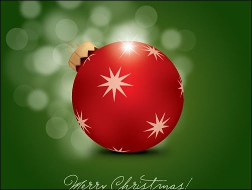 Merry-Christmas-Free-Vector-Ball