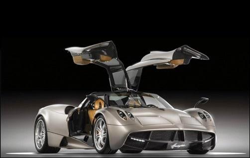 Pagani-Huayra expensive cars