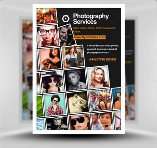 Photography2 flyer templates