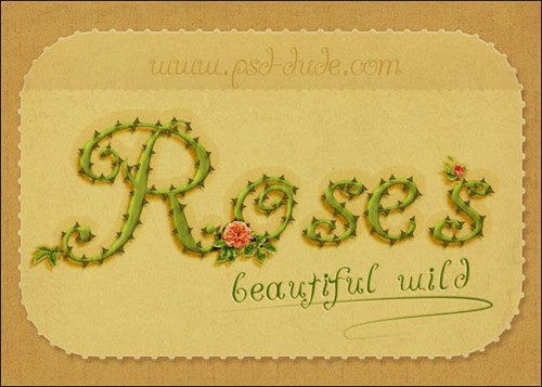 Photoshop-Rose-Text-Effect-Tutorial