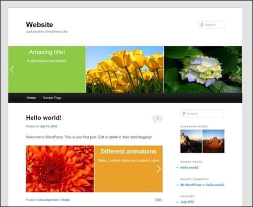 Slideshow-wordpress-sliders