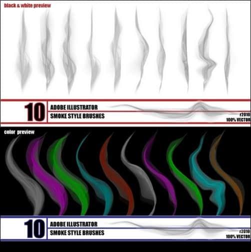 Smoke-illustrator-brush