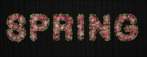Spring-Blossoms-Text-Effect