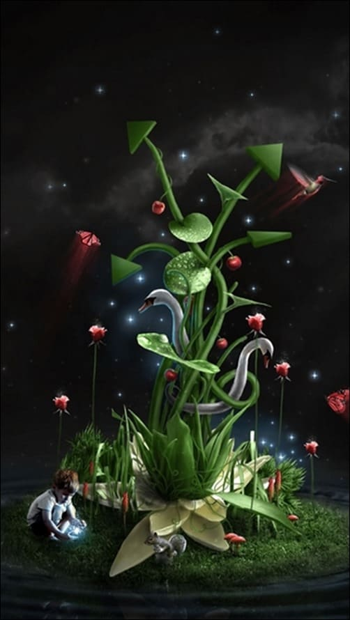 Superb-Life-Fantasy-Scenary-iPhone-5-Wallpaper