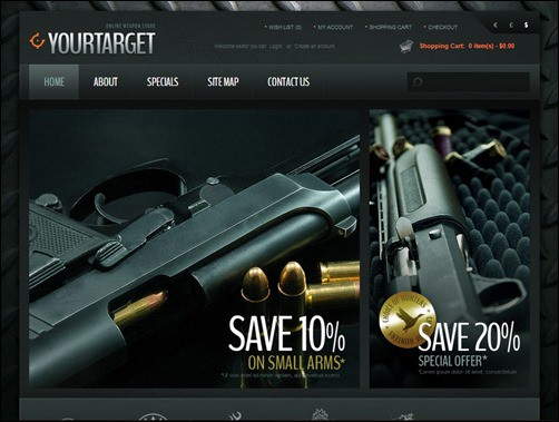 Weapons-Hitting-the-Target-opencart-template