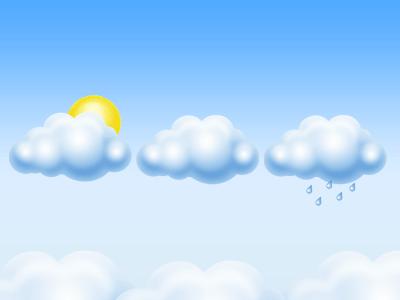 cloud icon free psd