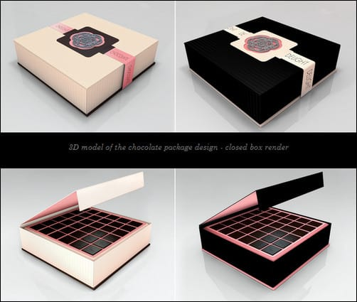 creative package design chocolate