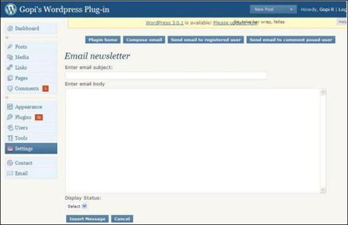 email-newsletter wordpress newsletter plugins