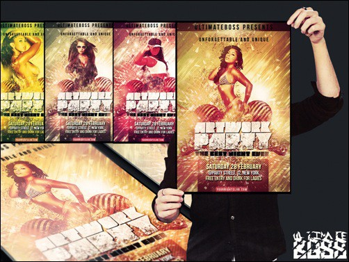 artwork_party flyer templates