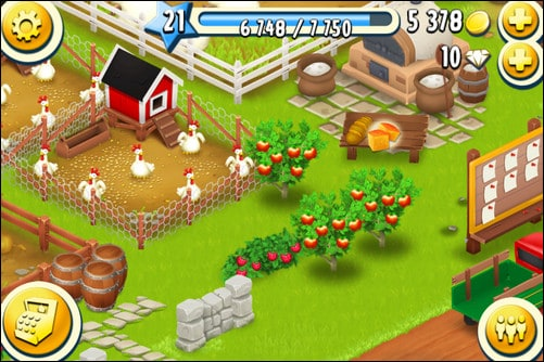 hay day best multiplayer iphone games
