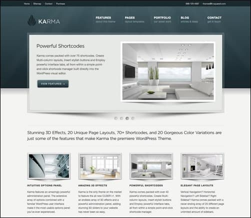 karma wordpress business themes
