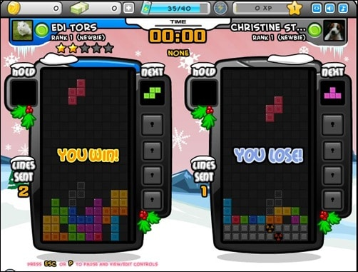 tetris-battle addictive facebook games