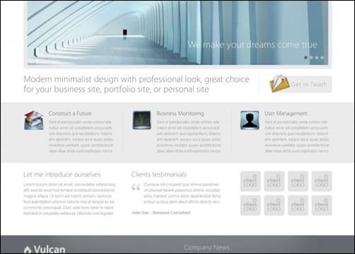 Simple WordPress Themes vULCAN
