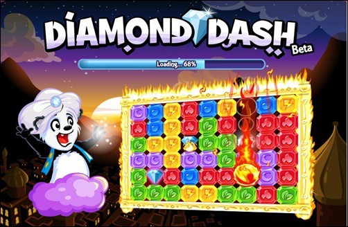 diamond dash addictive facebook games
