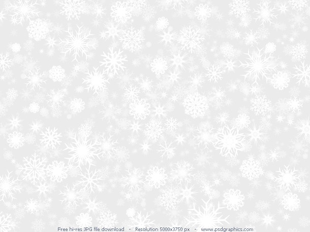 white snow background