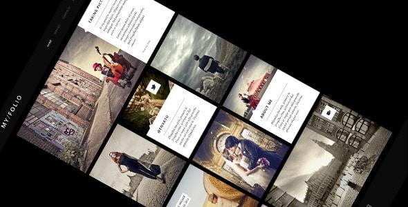MY FOLIO - Retina Ready WP Photography-Theme