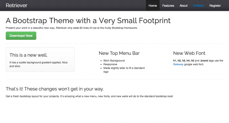 Retriever-A-new-Bootstrap-Theme