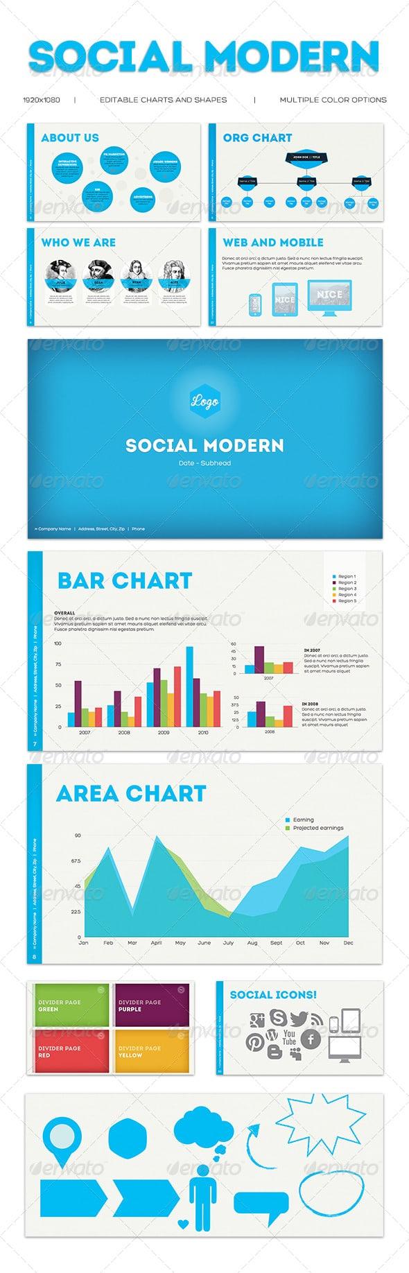 SocialModern-keynote-template
