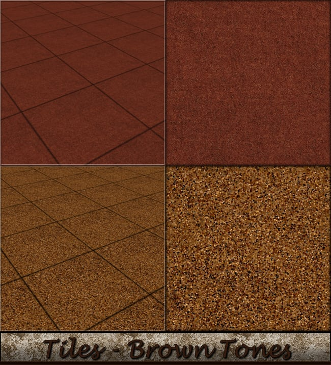 Tiles - Brown Tones