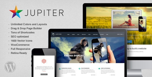 Jupiter WordPress Responsive Theme