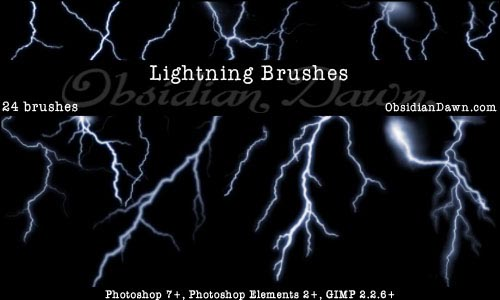 Lightning_Photoshop_Brushes_by_redheadstock