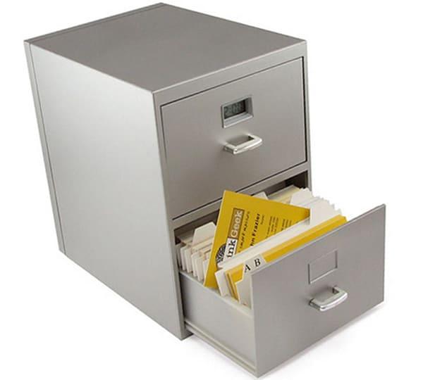 Mini Business Card File Cabinet ($12.99)