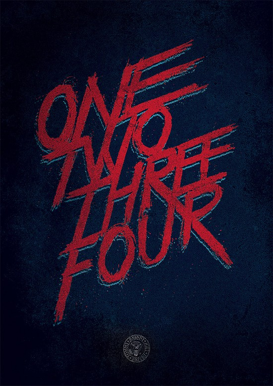 One, two, three, four...