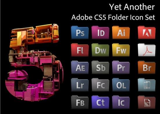 Yet Another Adobe CS5 Icon Set