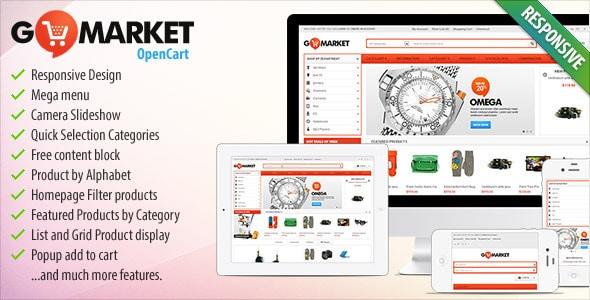 BossThemes GoMarket - Supermarket OpenCart Theme
