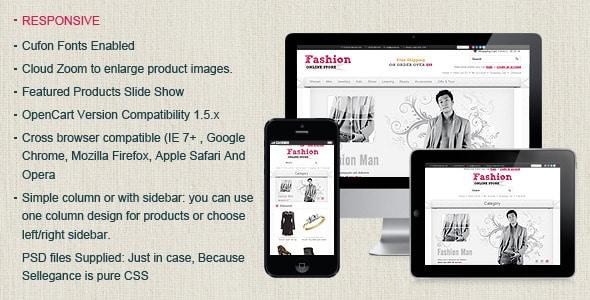Fashion Opencart Theme