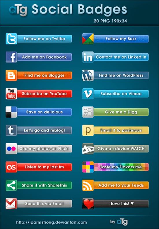 Social Badges