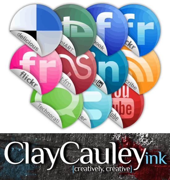 Sticker Style Social Media