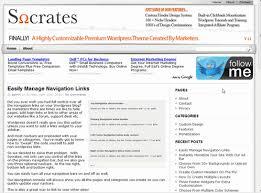 Socrates AdSense Theme