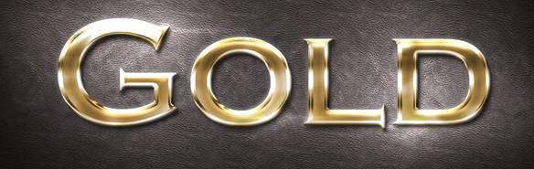 Gold Style Photoshop