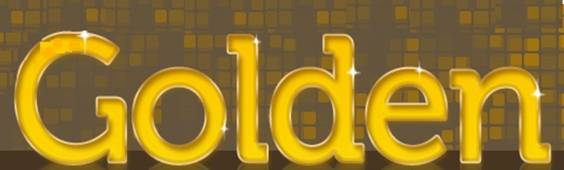 Glossy Golden Effect in photoshop