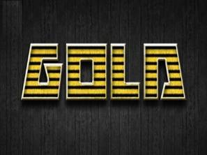 Gold Style Text Effect