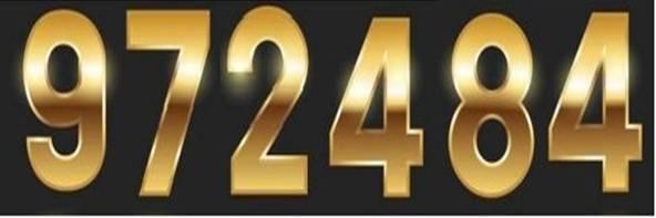 Golden Numbers Free Vector.
