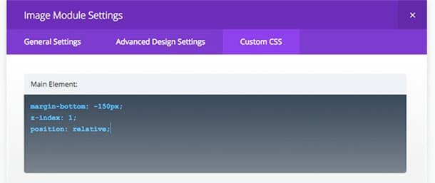Divi theme CSS tab