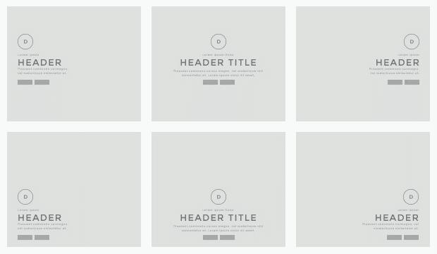 Divi theme Header display