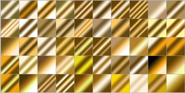 Gold Gradient Photoshop