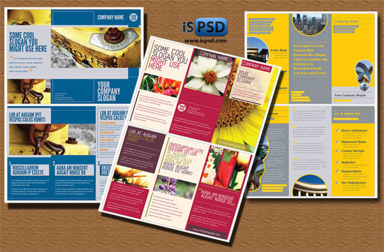 All posts tagged with tri fold brochure template psd free download