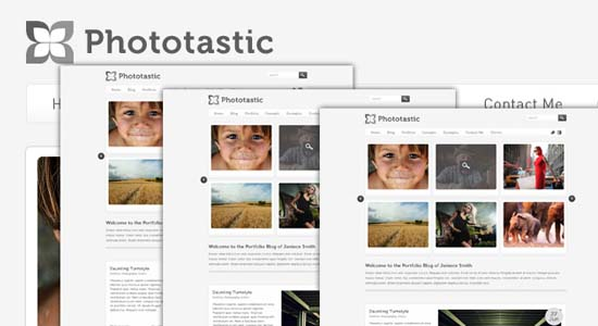 Free Photography Portfolio Template