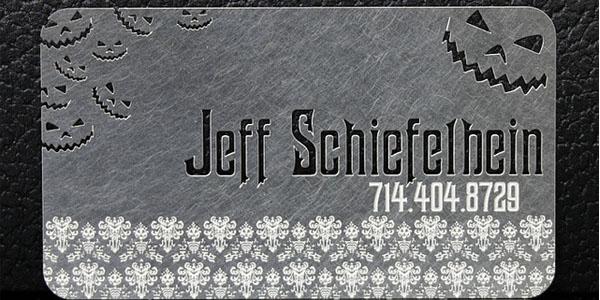 metal business card designs