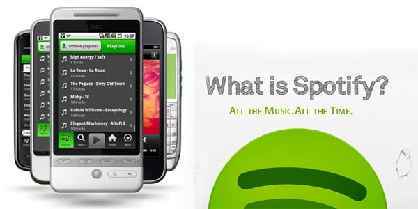 spotify android music player