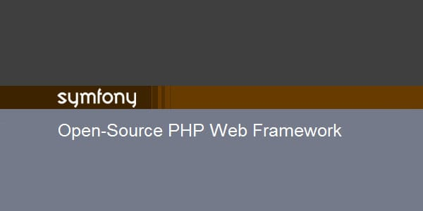 symfony PHP