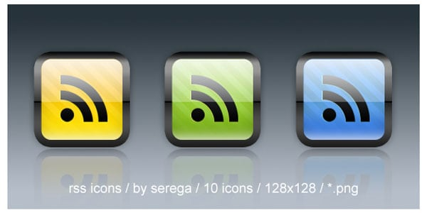 rss feed icons